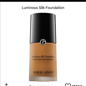 Giorgio Armani Luminous Silk Foundation •NEW•